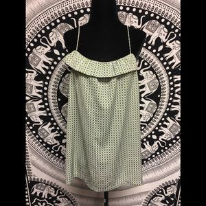 J Crew tank top blouse